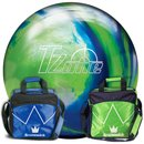 Brunswick TZone Ocean Reef & Bag Blitz lime oder royal