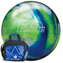Brunswick TZone Ocean Reef & Bag Blitz lime oder royal 11...