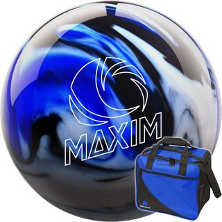 Ebonite Maxim Captain Midnight und Basic blau