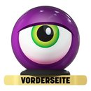 OTB Monster Eyeball Purple