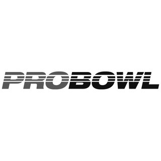 Pro Bowl Ball Soccer Fußball black white